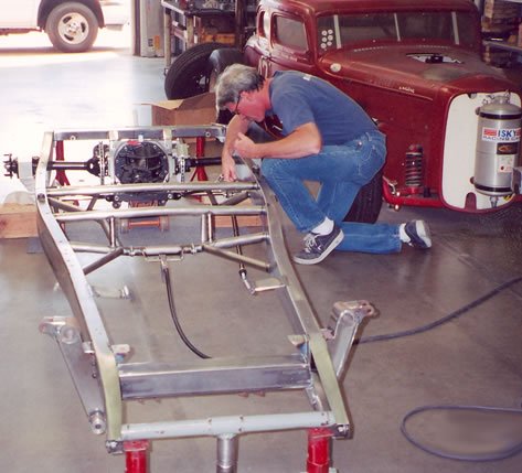 Chassis work