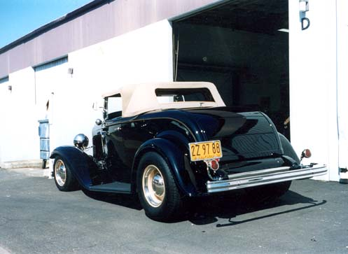Ron Fairfield Roadster